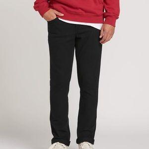 Volcom - Size 34 - Men's Vorta Slim Straight - Blk
